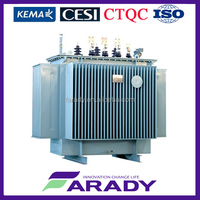 oil immersed wonded core full copper 500kVA distribution transformer