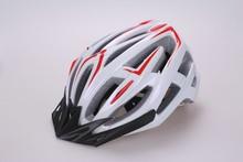 adult sport helmet safety helmet bike PC in-mold bicycle helmet with black EPS