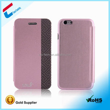 Factory OEM ODM flip leather cover case for samsung c3222