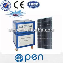 OP600W 2013 hot sale 12 v dc solar home lighting system