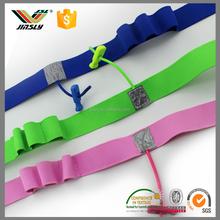 2.5cm Custom Sports triathlon Marathon numbe elastic Race Number Sports Belt