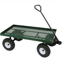 2015 China Factory Four wheels Garden cart Hand Trolley cart