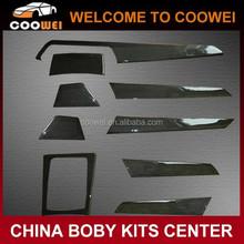 2011 carbon fiber interior trim dashboard cover for B C300 interior trim cover