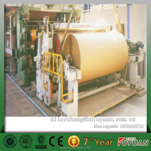 henan brown envelop paper, file paper, high strength kraft paper making machine, testliner paper making line from Fuyuan