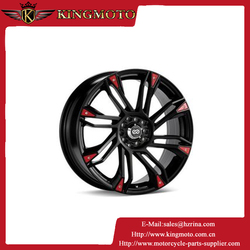 Motorcycle 11*1.40-1.4 rear wheel rim and front wheel rim in aluminium material hot sell