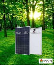 High quality low price Chinese Zhejiang Ningbo Ring Electronics Co.,Ltd flexible18V 220W poly solar panel