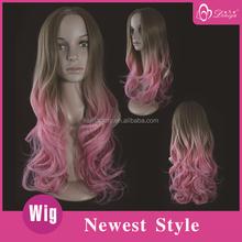 2015 Deniya Pink Ombre Wig