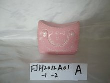 Handbag Shape Ceramic Money Bank FJH2012A01