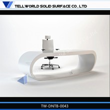Professional Design Acrylic Stone Square Office Table/office table and chair price