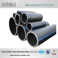China manufacturer ISO4427 PE 100 HDPE 450mm pe plastic drainage pipes