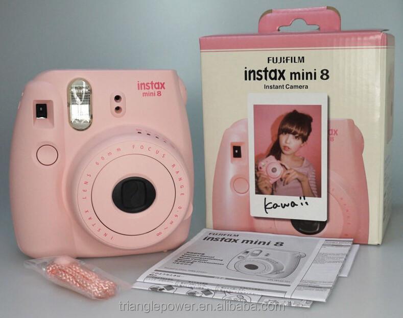 gros fujifilm instax mini 8 rose couleur polaroid. Black Bedroom Furniture Sets. Home Design Ideas
