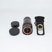 8x Universal telephoto lens Mobile Phone Camera Clip For iphone with For Samsung