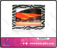 crystal photo frames with crystal rhinestone covered picture frame