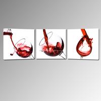 Wine Glass Stretched Canvas Printing/Custom Canvas Prints Cheap/2015 Fine Decoration Art