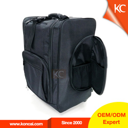 Trolley hairdressing equipment Nylon cosmetic makeup bag, travel train vanity case luggage