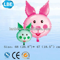 CE approved wholesale carrot rabbit the chinese make balloon