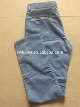 hombres de carga pantalones con bolsillos laterales para hombre pantalones casuales de fantasía pantalones de vestir