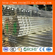 gas/fluid galvanized steel tube/ pipe for building zin coated 300g/ m2 price
