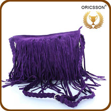 New Products Women stylish College suede Bag