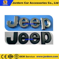 2014 best selling chrome car letter emblem, Silver/Black