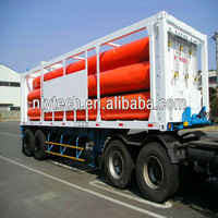 High Quality and Large Carrying Capacity CNG Container Semi Trailer