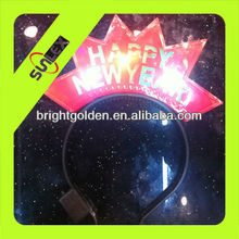 led glow Happy New Year Party head boppers