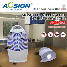 Reliable quality high voltage efficiency electronic fly light trap/electric mosquito control