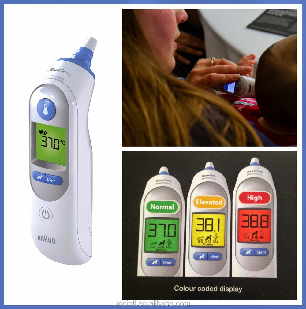 braun thermoscan ear thermometer instructions