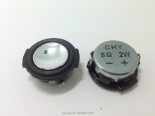 34*31mm 2w 8ohm Fo-20KHz Mylar cone speaker