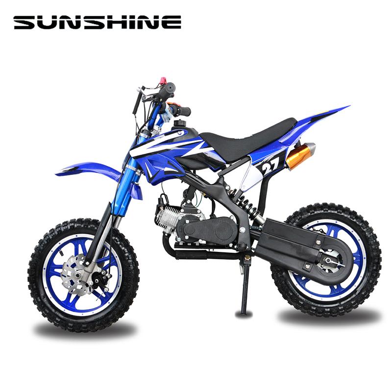 Usado barato sobrealimentador turbocompresor kit 49cc 50cc scooter Pocket pit mini kick Start dirt bike