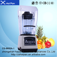 Traditional / Work Top Type and Plastic Container Material Juice blender glass jar