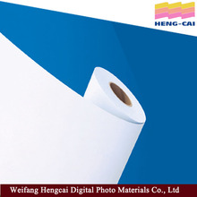 Solvent based window decoration cling film