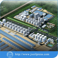 Soybean cooking oil machinery/soybean oil extraction machine production line