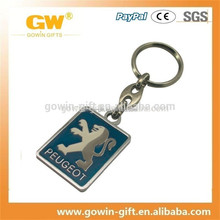 wholesale car logo keychain/car logo key holder/car logo keyring