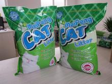Meipeng marca de sodio 100% arena para gatos bentonita