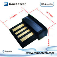 CSR V4.0+ harmony software, mini bluetooth dongle class 1&2