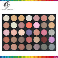 Private label cosmetics palette wholesale makeup OEM accept 35 color private label eyeshadow palette