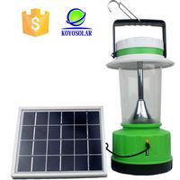 China camping solar lantern, solar powered heat lamp