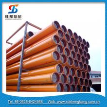 DN125 ST52 3m Concrete Pump Delivery Pipe For Putzmeister Pump