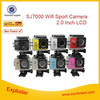 Free Shipping!! SJ7000 2.0 LCD Waterproof Sport Camera NT96655 1080P Full HD 30FPS WiFi Action Camcorder Car Dvrs SJ7000