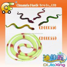 PVC Plastic snake toys, PP toys insert ,cheap plastic snake
