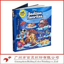 Children book cover design,children cardboard book/coloring book printing