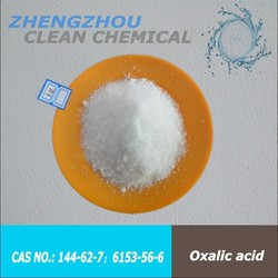Oxalic acid 99.6% White transparent crystals or powder