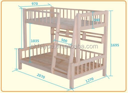 Single bunk bed for sale cheap wood frame bunk bed wooden for Cheap bunk beds for sale