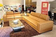 2015 furniture sofa leather lounge suites modern design living room J871