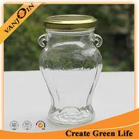 300ml Chutney Glass Jar With Metal Lid