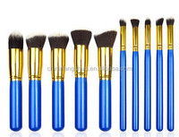 2015 new arrivels blueberry series blusher makeup brushes