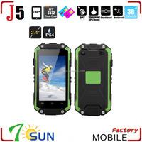 MINI SMARTPHONE J5 IP54 DUAL CORE DUAL SIM 3G waterproof shockproof smart phone