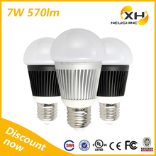 Factory Price Ball Led Bulb Light/Led Light Bulb / 550 Lumen Led Bulb E14/E27