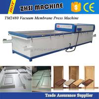 Forming vacuum membrane press machine for MDF wood veneer